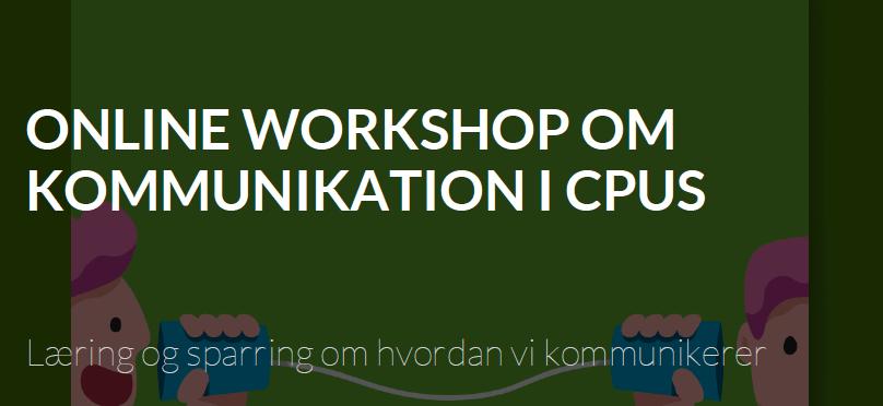 online workshop om kommunikation
